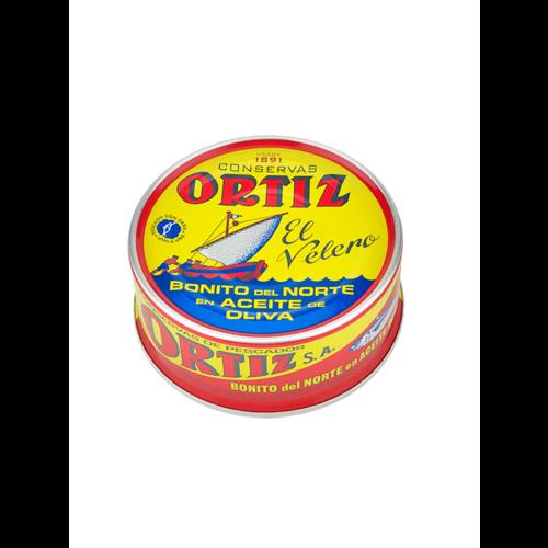 """Ortiz Weisser Thunfisch """"Bonito del Norte"""" in Olivenöl 250g"""