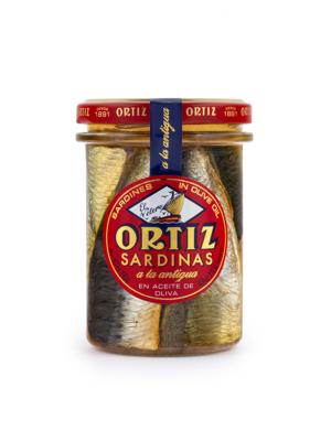 """Ortiz Sardinen """"A la Antigua"""" 190g"""