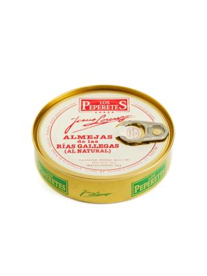 Peperetes Los Peperetes Almejas (Muscheln) 120g