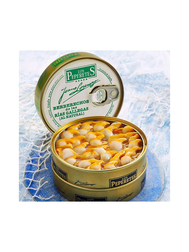 Peperetes Los Peperetes  Herzmuscheln (Berberechos) 40-50 Stück