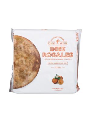 Ines Rosales Ines Rosales Tortas de Aceite Naranja 4 unidades 120g