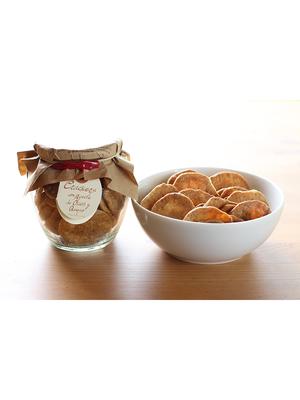 La Cuna Crackers con aceite de oliva y queso de cabra 110g