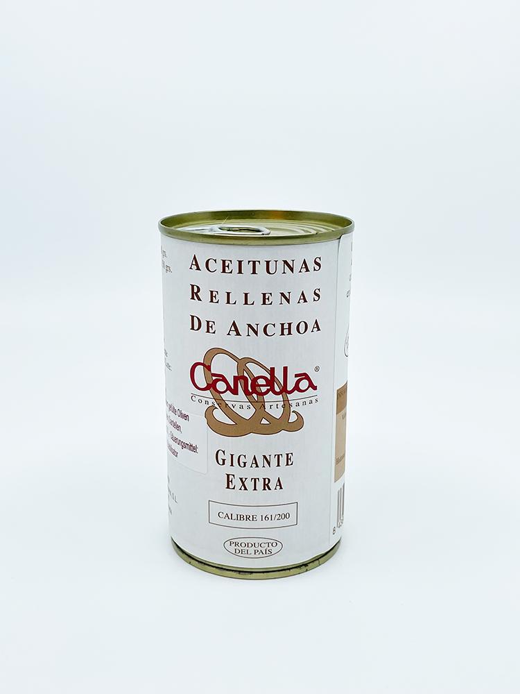 Canella Oliven mit Sardellen gefüllt 150g