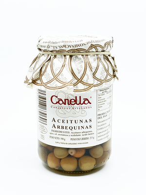 Canella Aceitunas Arbequinas 215g