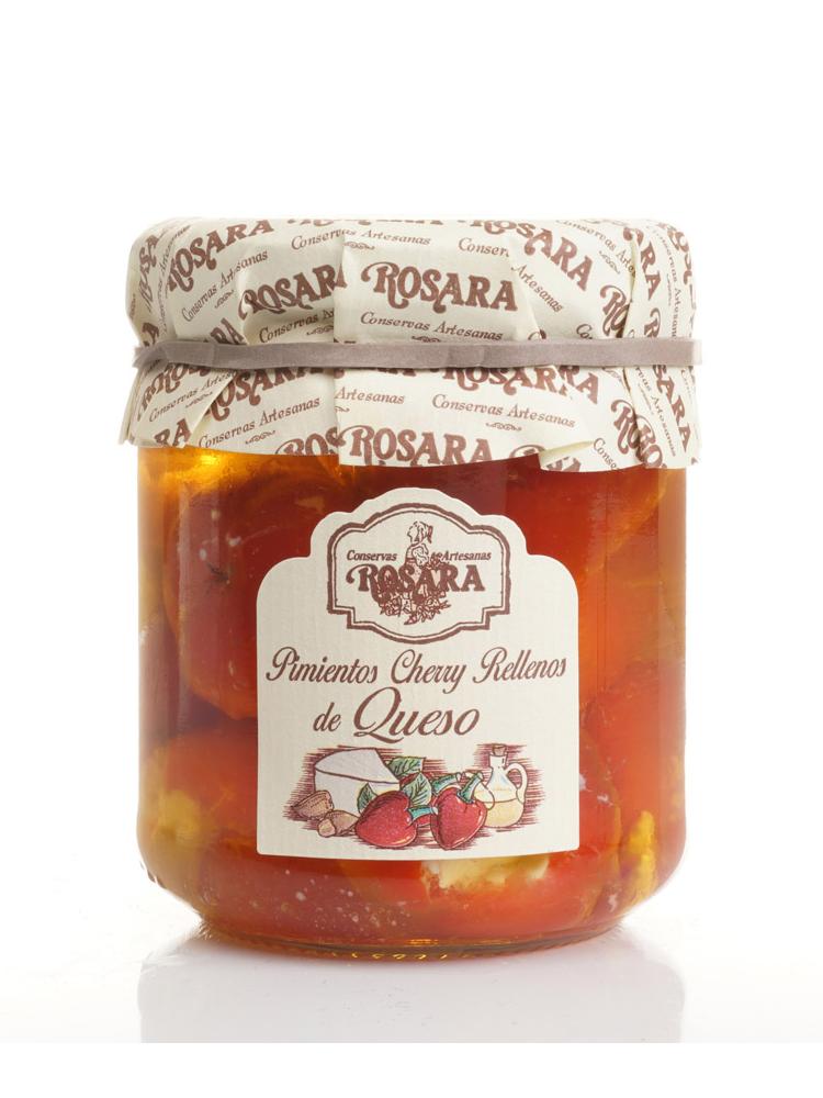 Rosara Rosara Cherry Paprika mit Frischkäse gefüllt 185g