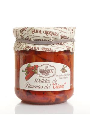 """Rosara Rosara Delicias de Pimientos del """"Cristal"""" 185g"""