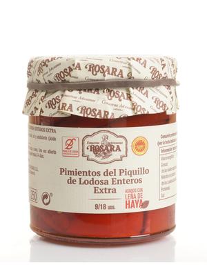 Rosara Rosara ganze Piquillo Paprikas 9/12 Stück 200g
