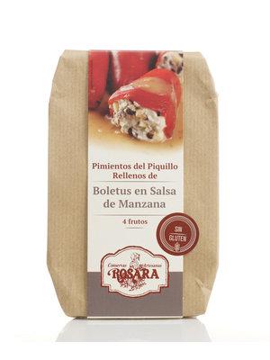 Rosara Piquillo Paprika mit Boletus-Pilzen gefüllt 250g
