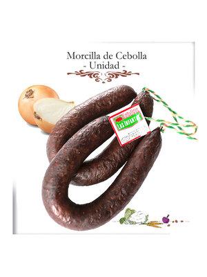 """Embutidos Las Infantas Zwiebel-Blutwurst """"Morcilla de cebolla"""" Ring 330g"""