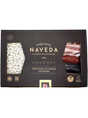 """Naveda Zutaten-Pack für Bohneneintopf """"Fabada Asturiana"""" Gourmet 1kg"""