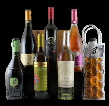 Zomerdoosje wijn inclusief fleskoeler