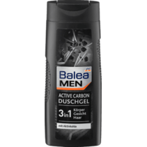 Balea MEN Douchegel 3in1 Active Carbon