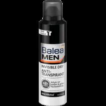 Balea MEN Deo Spray Deodorant Anti-Transpirant Invisible Dry