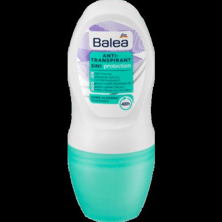 Balea Balea Deo Roll On Anti-Transpirant 5in1 Protection 50 ml