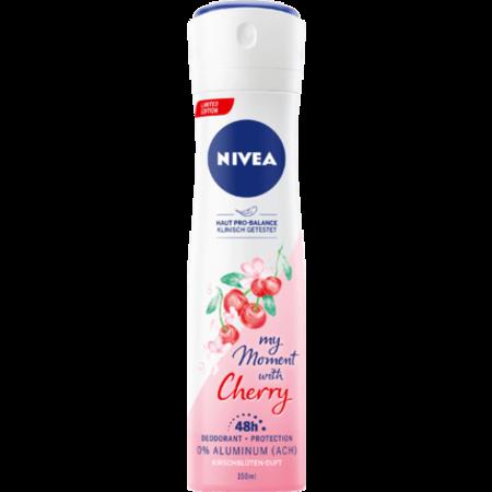 NIVEA NIVEA Deo Spray Deodorant My Moment With Cherry 150 ml
