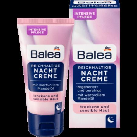 Balea Balea Verzorgende Nachtcrème Met Amandelolie 50 ml