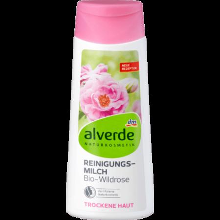alverde alverde Reinigingsmelk Bio-Wildrose 200 ml