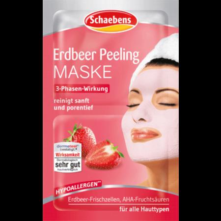 Scheaebens Schaebens Aardbei Peeling Masker 12ml