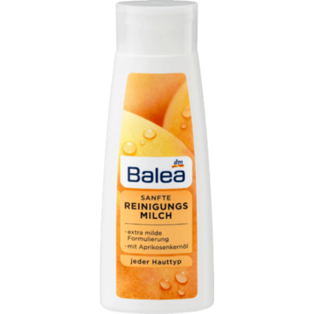 Balea Balea Zachte Reinigingsmelk met Abrikozenpitolie 200 ml