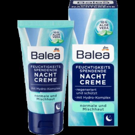 Balea Balea Hydraterende Nachtcrème 50 ml