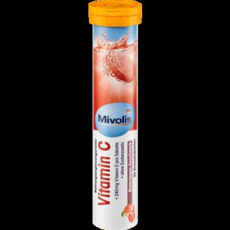 Mivolis Mivolis Vitamine C Bruistabletten (20 stuks)