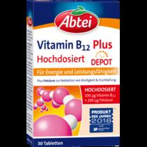 Abtei Vitamine B12 Plus Depot Tabletten