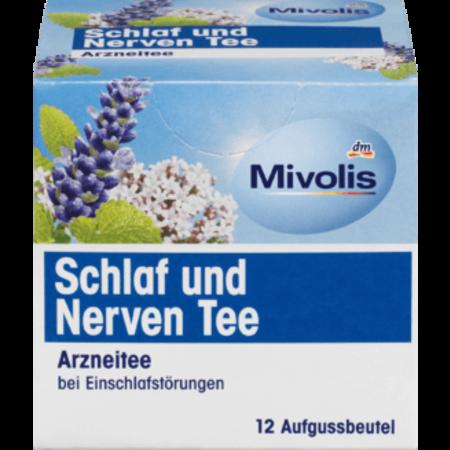 Mivolis Mivolis Medicinale Slaap- en Zenuwthee (12x1,5 gram) 18 gram