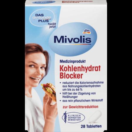 Mivolis Mivolis Koolhydratenblokker Tabletten (28 stuks)