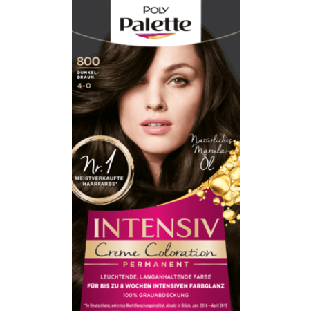 Poly Palette Poly Palette Haarverf Kleur Donkerbruin 800