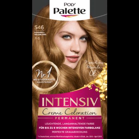 Poly Palette Poly Palette Haarverf Kleur Karamel Goudblond 546