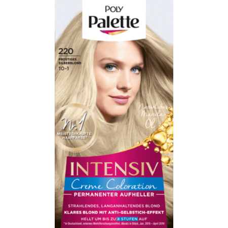 Poly Palette Poly Palette Haarverf Kleur Zilverblond 220