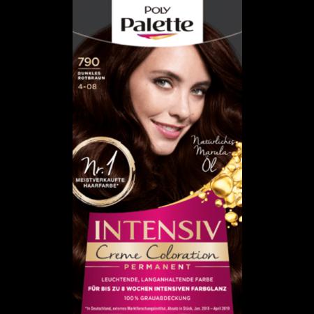 Poly Palette Poly Palette Haarverf Kleur Donker Rood-Bruin 790