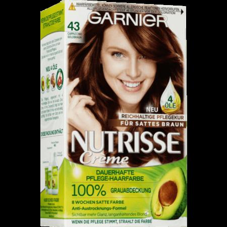 Garnier Nutrisse Garnier Nutrisse Haarverf Kleur Goudbruin - Cappuccino 43