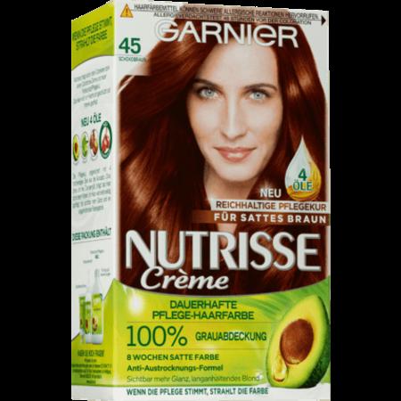 Garnier Nutrisse Garnier Nutrisse Haarverf Kleur Chocoladebruin 45