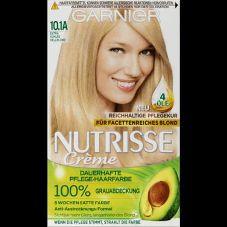 Garnier Nutrisse Garnier Nutrisse Haarverf Kleur Extra Cool Lichtblond 10.1A