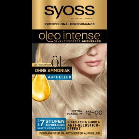 Syoss Syoss Oleo Intense Haarverf Kleur Extra Platina 12-00