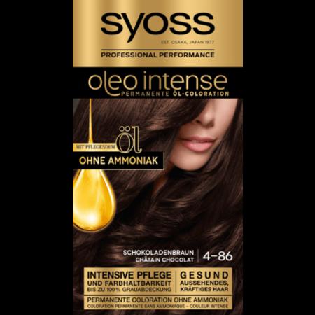 Syoss Syoss Oleo Intense Haarverf Kleur Chocoladebruin 4-86