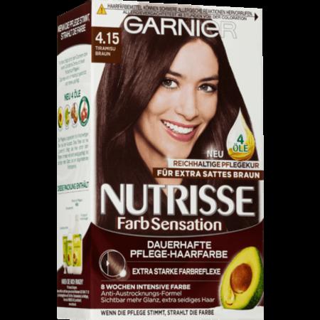 Garnier Nutrisse Garnier Nutrisse Haarverf Kleur Tiramisu Bruin 4.15