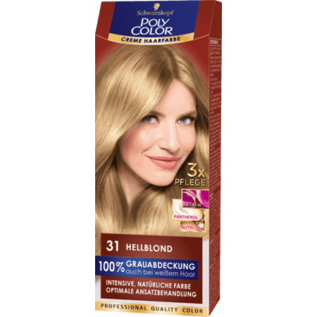 Poly Color Poly Color Crème Haarverf Kleur Lichtblond 31