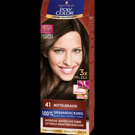 Poly Color Poly Color Crème Haarverf Kleur Mediumbruin 41