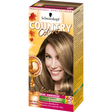 Schwarzkopf Country Colors  Schwarzkopf Country Colors Nevada Donkerblond 40