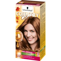 Schwarzkopf Country Colors Cognac Hazelnoot 49