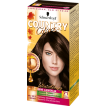 Schwarzkopf Country Colors Cacao Donker Goudbruin 71