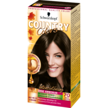 Schwarzkopf Country Colors Brazilië Donkerbruin 70