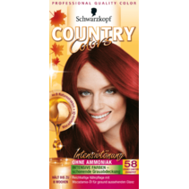 Schwarzkopf Country Colors Grand Canyon Granaatrood 58
