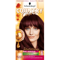 Schwarzkopf Country Colors Madagascar Rood Zwart 75