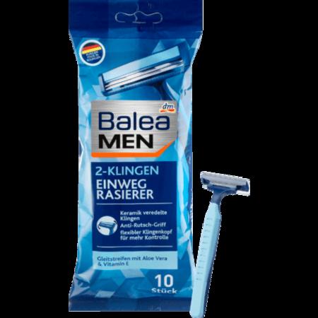 Balea MEN Balea MEN Wegwerpscheermes 2-mesjes 10 stuks