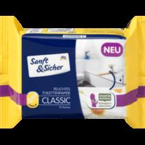 Sanft&Sicher Vochtig Toiletpapier Classic Kamille Navulpak