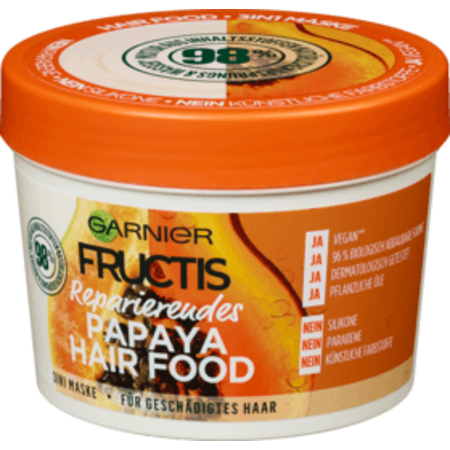 Garnier Garnier Fructis Haarmasker Papaya Hair Food 390 ml