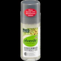 alverde Deo Roll-On Deodorant Invisible 48H